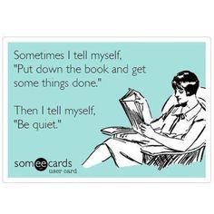 We hope you skip getting things done this weekend & keep reading that book! #happyweekend