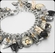 Edgar Allan Poe Poe Jewelry Edgar Allen Poe by BlackberryDesigns, $123.00
