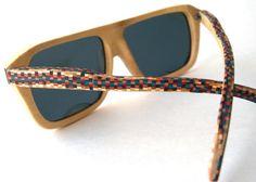 Recycled Skateboard Sunglasses  Eyewear by SecondShot on Etsy, $189.99