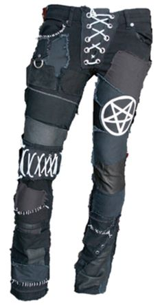 FSLA Far Beyond Metal Custom Rocker Pants