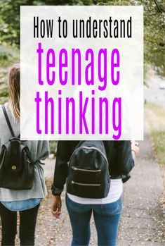 How to understanding teenage thinking- teen parenting can be really tricky so here is some positive parentign advice to help you understand your teenagers posint of view and how they think Parenting Courses, Parenting Issues, Parenting Teens, Parenting Advice, Teenage Brain, Family Therapy, Teenager Quotes, Books For Teens, Teenage Years