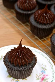 Cupcake Recipes : Salted Caramel Chocolate Cupcakes