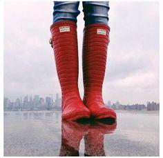 Hunter boots by Jimmy Choo