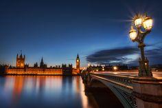 Westminster Bridge, Big Ben, Parliament