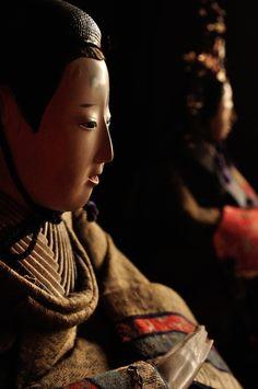 臨江閣 古い雛人形1