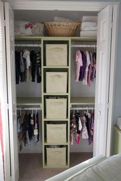 closet organization by debbie
