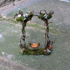Fairy Swing - this is adorable! inspiration only  ********************************************   PandoraJane via Etsy