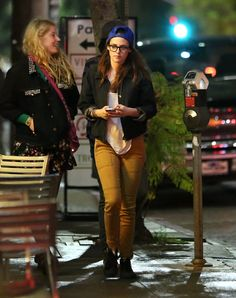Exclusive — Kristen Stewart Steps Out For Sushi with friends at #EnSushi in Los Feliz, CA on Feb 19, 2013. See more Celebs Spotted at En Sushi!    http://celebhotspots.com/hotspot/?hotspotid=30391&next=1