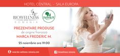 Event flyer design for Biowellness Romania Frederic M, Romania, Flyer Design, Print Design, Wedding Dresses, Fashion, Bride Dresses, Moda, Bridal Gowns