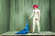 Photographer / stylist Sylwana Zybura's alter ego Madame Peripetie
