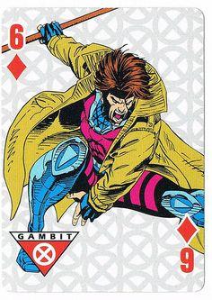 Six of Diamonds - Gambit by Andy Kubert | STORM | Flickr