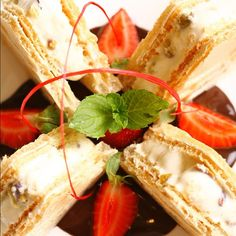 Taste Turkish Kağıt Helva with Ice Cream. Kids will definitely want more