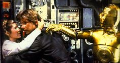 C3PO: Sir! Sir, I've isolated the reverse, power flux coupling!   Han: Thank you.  Thank you very much.