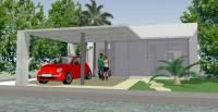 House High Gain development includes: living room, kitchen with breakfast bar, laundry room, laundry room, patio, 2 bedrooms, 2 bathrooms, patio deck, pool, parking and garden Cancún; México