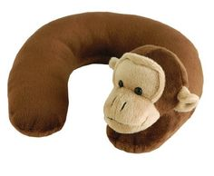 Eddie Bauer Animal Neck Roll, Monkey (Discontinued by Manufacturer) Neck Roll Pillow, Neck Pillow Travel, Travel Pillows, Eddie Bauer, Best Toddler Car Seat, Ros Hommerson, Umbrella Stroller, Get Well Gifts, Kids Pillows