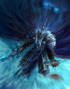 The Lich King – WoWWiki – Your guide to the World of Warcraft - Pubg, Fortnite and Hearthstone Warcraft Heroes, World Of Warcraft 3, World Of Warcraft Characters, Warcraft Art, Arthas Menethil, World Of Warcraft Wallpaper, Lich King, Death Knight, Forgotten Realms