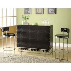 Acme 70950- BAR TABLE Bar Stool Price set of Two