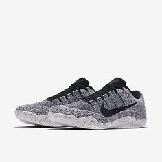 Kobe XI Elite Men's Basketball Shoe Kobe ​​11, Tênis De Basquete, Oreo, Preto E Branco