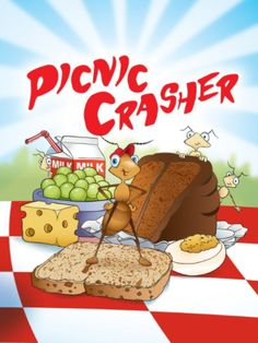 Picnic Crasher. Educational and personalized children's book from Inspire me to!