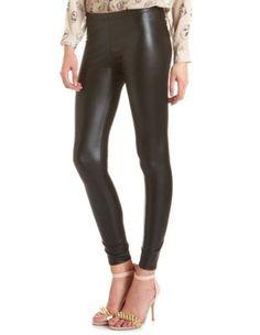 Matte Black Liquid Legging Charlotte Russe $14.99