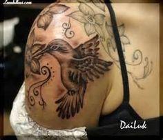 Tatuaje De Bresp  Aves Colibríes Animales