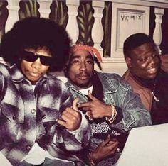 Eazy E, Tupac Shakur, and Notorious Big Looks Hip Hop, Love N Hip Hop, Hip Hop And R&b, Mode Hip Hop, Hip Hop Rap, Hip Hop Artists, Music Artists, New School Hip Hop, Tupac And Biggie