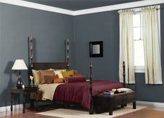 This is the project I created on Behr.com. I used these colors: SUBMARINE GRAY(N470-7),