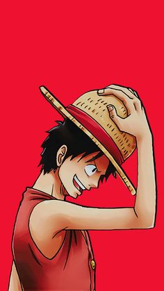 Luffy (Mugiwara no Luffy) One Piece Anime, One Piece Fanart, One Piece Luffy, Anime Manga, Anime Art, One Piece Wallpaper Iphone, Otaku, One Piece Drawing, Hxh Characters