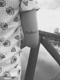 Tattoo resiliência
