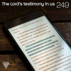 The Lord's testimony in us You can listen to this talk at podcastrevival.com/249 or find us in your podcast app on your phone. #Jesus #Christ #God #holyspirit #baptism #bible #PodcastRevival #RevivalFellowship Holy Spirit, Jesus Christ, Lord, Bible, Faith, App, Phone, Pastor, Holy Ghost