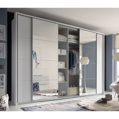 Living Room Tv Unit Designs, Bedroom Cupboard Designs, Bedroom Cupboards, Bedroom Closet Storage, Wardrobe Design Bedroom, Sliding Door Wardrobe Designs, Closet Designs, Small Bedroom Furniture, Master Bedroom Interior