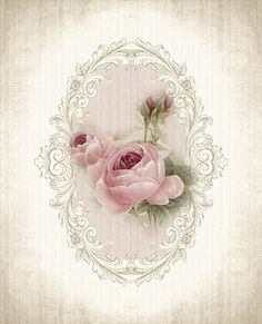 """A WhimsyDust Affair """"Vintage Rose Print by A WhimsyDust Affair"""", """"A WhimsyDust Affair.Really soft pink roses"""", """"A WhimsyDust Affair Aunt IlaVere woul Decoupage Vintage, Vintage Diy, Vintage Paper, Vintage Jewelry, Vintage Labels, Vintage Ephemera, Vintage Cards, Images Vintage, Vintage Pictures"""