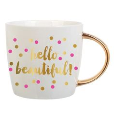 Hello Beautiful Coffee Mug - Wilson Street - Slant Collection