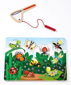 Melissa & Doug Bug-Catching Magnetic Puzzle Game | zulily