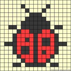 Tiny Cross Stitch, Cross Stitch Designs, Cross Stitch Patterns, Loom Beading, Beading Patterns, Alpha Patterns, Perler Patterns, Knitting Charts, Brick Stitch