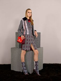 Fendi's Pre Fall 2014-15 Collection - Look 3