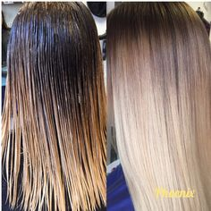 Colour melt /shadow root / root stretch Hair colour