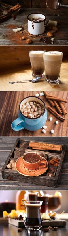 Интересные рецепты кофе