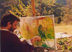 luigi de giovanni a seulo dipingere in plein air