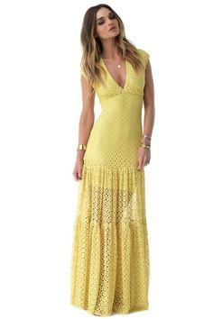 Beautiful lace maxi dress!
