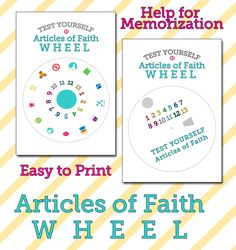 Articles of Faith Wheel