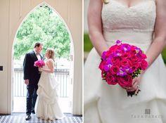 Julia + Joel | Raleigh, NC Wedding Photographers | All Saint's Chapel + Capital City Club