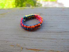 Handmade Tie-Dye Hemp Macrame Ring Multiple Sizes availible! - http://www.etsy.com/listing/159672422/handmade-tie-dye-hemp-macrame-ring?ref=market