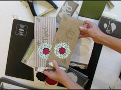 Circle Card Thinlit Mini Album Directions - Stamp Your Art Out!