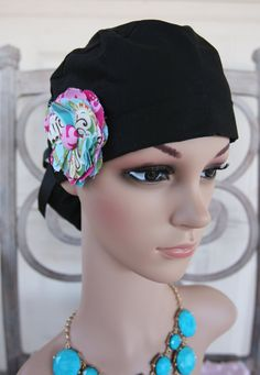 NEW Surgical Ponytail Scrub Hat  Solid Colors.  12.00 ed28b455d7b