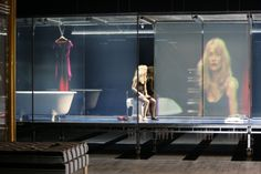 Malgorzata Szczesniak – Scenography for Un Tramway, Odéon-Théâtre de l'Europe, Paris (starring Isabelle Huppert)