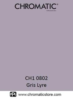 Finalisez votre projet peinture avec le fris Lyre CH1 0802 en vous rendant dans l'un de nos points de vente partenaires. Trouvez votre distributeur sur www.chromaticstore.com