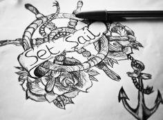 set sail tattoos - Google Search