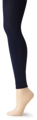 Betsey Johnson Women's Fleece Lined Legging, Navy, One Size