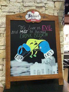 liver is evil